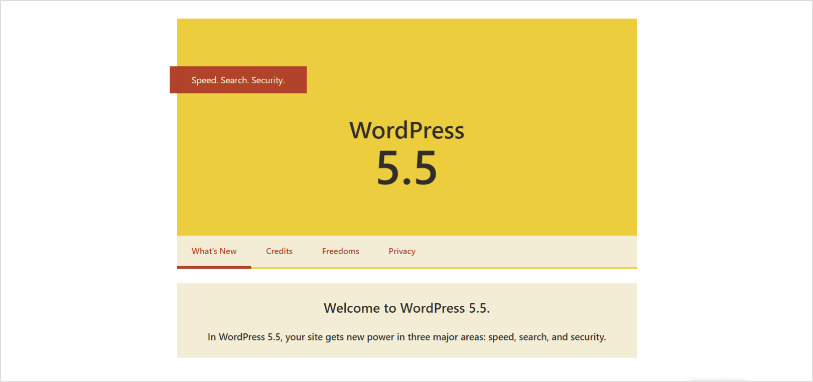 "WordPress 5.5 arrive code name ""Eckstine"""